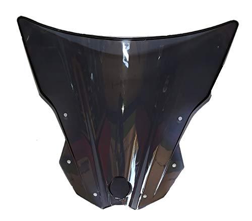 meenu arts Polycarbonate Unbreakable New Model Visor Glass for KTM Duke 180