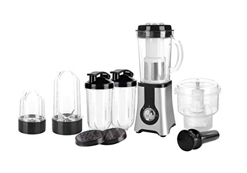 EzyHome 400 Watts 5 in 1 Powerful Food Processor Grinder & Juicer Silver Color