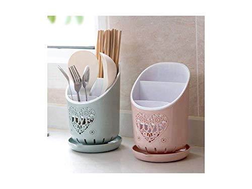 Inllex 3 Section Kitchen Home Dry Cutlery Holder Strainer Drainer Spoon Fork Organizer Dryer Storage Dock