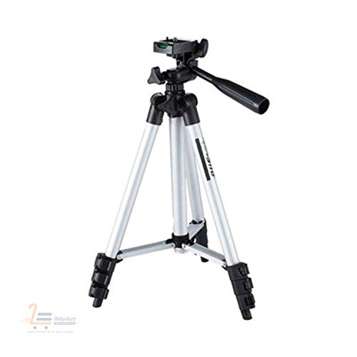 M Tech - Tripod Stand Portable and Fold-able Camera with Calling/FM/AUX/USB/SD Card Support for All Smartphones