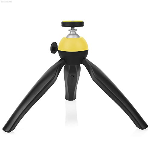 ELECTROPRIME 27DC ABS Tripod Yellow Camera Tripod Camera Adjustable SLR Camera