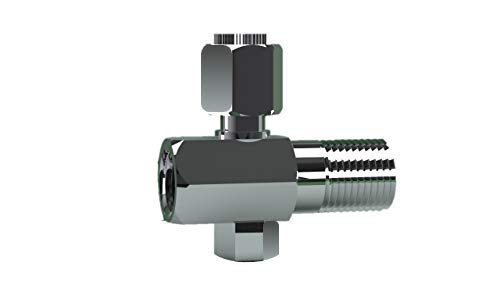 KHANJAN BRASS AND COPPER Aquaguard Diverter Valve, Suitable for inlet water tap to prefilter connector Diverter valve is usable to on/off water supply Compatible for any type of water purifier like Kent, Aqua grand and RO, UV UF