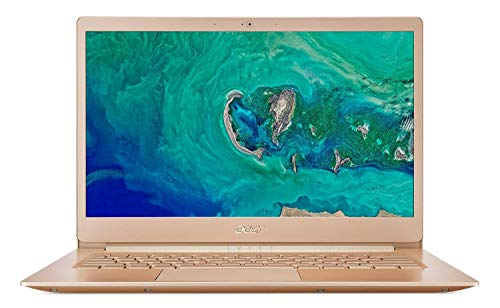 (Renewed) Acer Swift 5 SF514-52T 14-inch Laptop (8th Gen Intel Core i5-8250U/8GB/256GB/Windows 10 Home/Integrated Graphics), Honey Gold