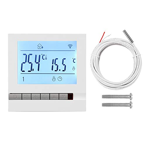 Honelife Intelligent LCD Programmable Inddor Floor Heating Room Thermostat Room Temperature Controller