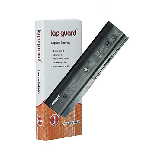 Lapguard 6 Cell Laptop Battery for HP M6-1125dx Laptop Battery Black (LGBTDV4-5000BLK06)