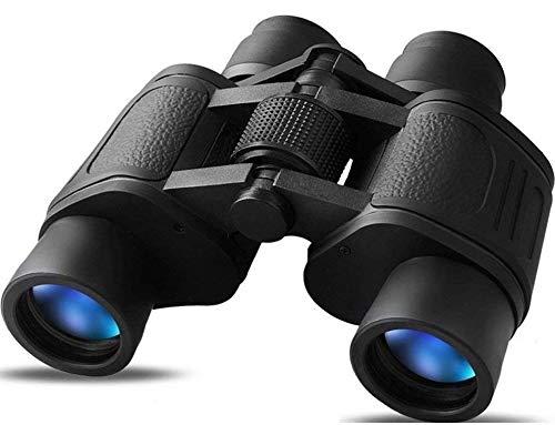CASON (DEVICE OF C)-Professional 8 X 40 HD Binoculars Folding Powerful Lens 8X Zoom Portable Binocular Telescope With Pouch Outdoor Binoculars For Long Distance,bird watching,wildlife For Adults(Black)