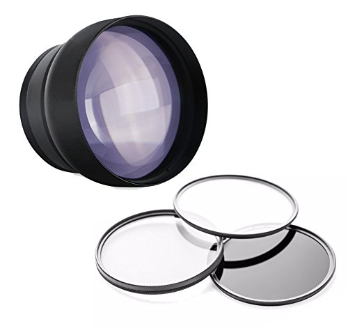 Samsung NX500 2.2 High Grade Super Telephoto Lens (Only for Lenses with Filter Sizes of 40.5, 43, 52, 58 or 67mm)