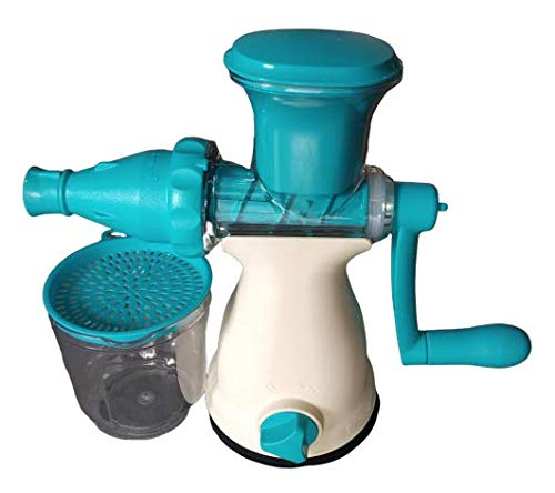 Apex Pooja Ecommerce Plastic All in 1 Juicer with Unbreakable Body (Blue)