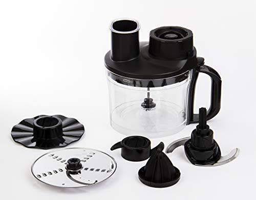 Butterfly Twist 500-Watt Food Processor with 2 Jars (Black)