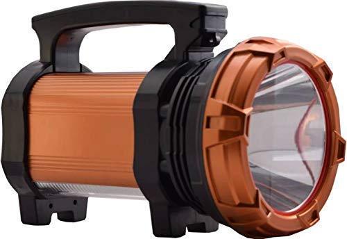 NKZ 100 Watt Laser Blinker with Side 2 COB Waterproof Bright Led Torch Light Laser Long Range Distance High Power Search Light Kisan (Large 100watt)