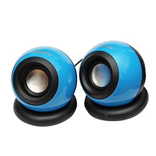 Quantum QHM 620 USB Mini Speaker Blue