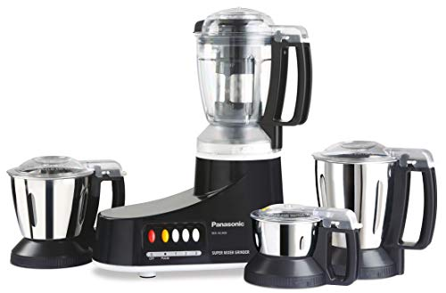 Panasonic AC MX-AC400 Mixer Grinder, 550W, 4 Jars (Black)