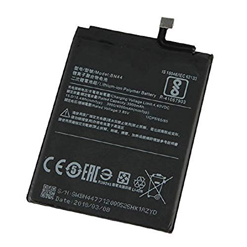 Nimegh Mobile Battery (BN-44) 3900 mAh for Xiaomi Redmi Note 5
