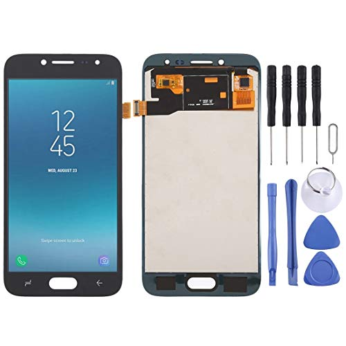 kouhongyu KHY TFT Material LCD Screen and Digitizer Full Assembly for Galaxy J2 Pro (2018) J250F/DS(Black) (Color : Blue)