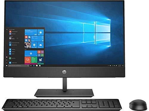 HP ProOne 400 G4 20 Inch Anti-Glare Full HD Business All in One Desktop (Core i5 / 8GB RAM / 1TB HDD/Win 10 Pro), Black, 3DQ45AV