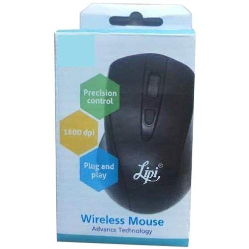 Lipi USB Mouse Plug and Play (Black)