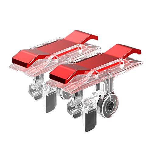 CLASSY™ Pubg Gaming Joystick/pubg triger/pubg Trigger for Mobile/pubg Trigger for ipad/Gaming Joystick for Mobile/Trigger for pubg/pubg Trigger Controller/fire Button Assist Tool (Red)