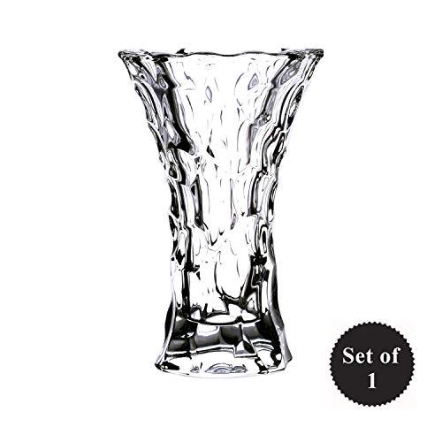 Arcade - Crystal Flower Vase for Decor | Room Decor Vase |Bedroom Flower Vase (1 pcs)