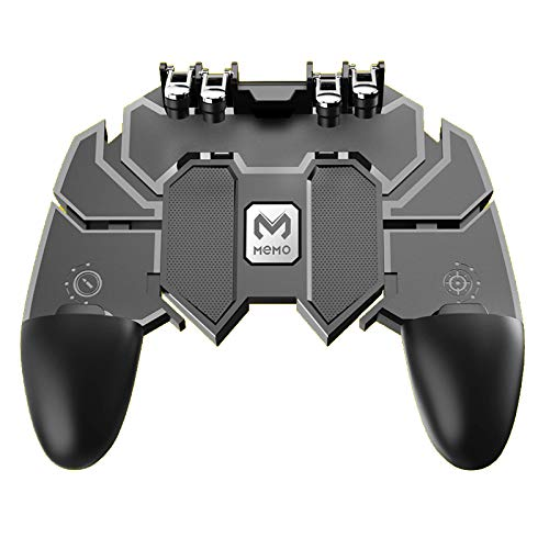 Sypher Memo AK66 for PUBG Mobile Game Controller Gamepad Trigger Aim Button L1R1 Shooter Joystick for iPhone/Android