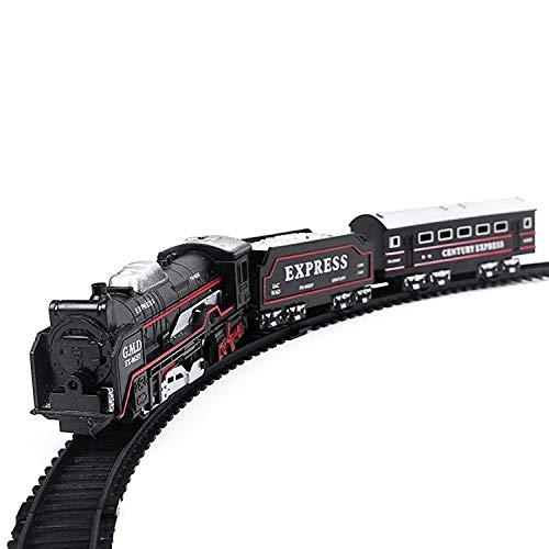 NiyatiRSH Train Set Ready to Play Model Battery Operated Engine 13 Pcs Train Set