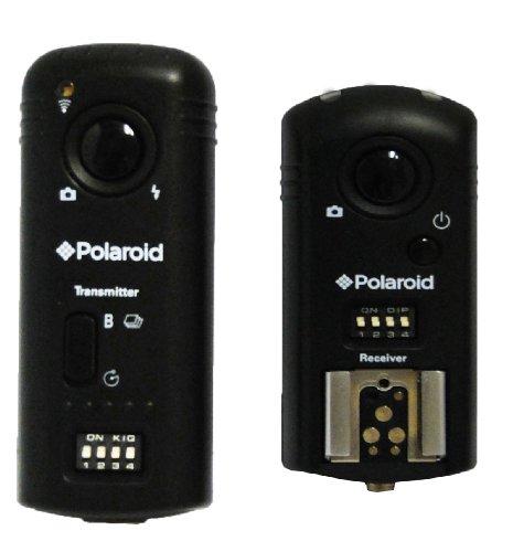 Polaroid Tri-Mode Wireless Camera & Flash Remote (Wireless Flash Remote, Wireless Shutter Release, Wireless Studio Strobe Trigger) For The Nikon D700, D300s, D300, D200, D2Xs, D2X, D2Hs, D2H, D3s, D3,