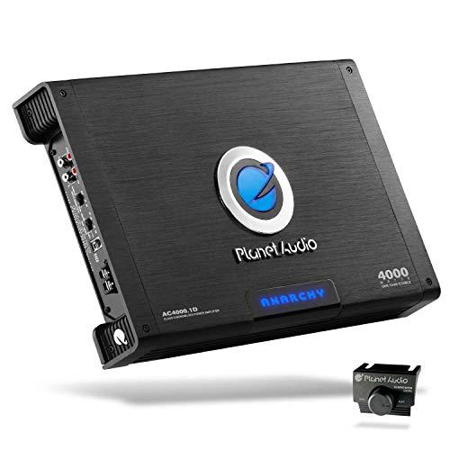 Planet Audio AC4000.1D 4,000-Watt Max Power Class D Monoblock Power Amplifier