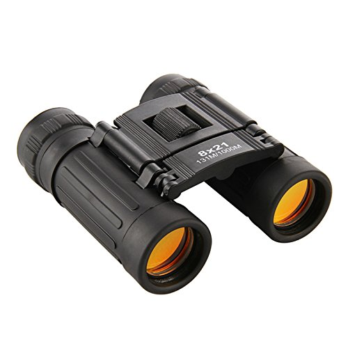 TRIEAGLE Folding Binoculars Professional Compact Light-Weighted Small 8x21 Outdoor for Travel Sports Concert Watching