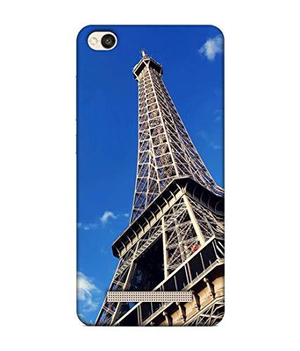 S SMARTY Designer Printed Plastic Mobile Back Case Cover Redmi 4A (Eiffel Tower)