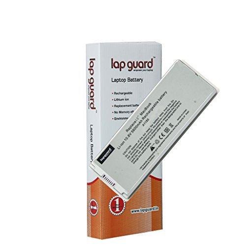 "Lapguard 6 Cell Laptop Battery for Apple MacBook 13"" MB403X/A White (LGBTAP1185WH06)"
