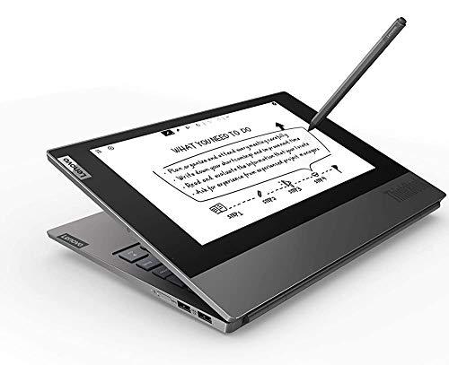 "(Renewed) Lenovo Thinkbook Plus Intel Core i7 10th Gen Dual Display 13.3 inch FHD Laptop (16GB RAM/ 512GB SSD/ 13.3"" FHD + 10.8"" FHD Monochromatic/ Windows 10 Professional/ Black/ 1.41 kg), 20TG004NIH"