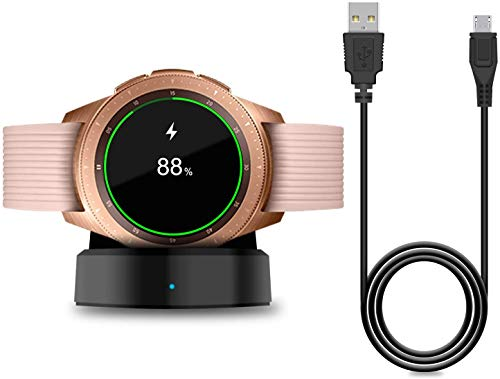 Dhavals shoppe USB Charging Cradle Dock for Samsung Galaxy Smart Watch R800 with USB Charge Cable Charger