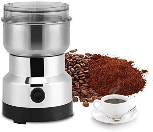 Horoly Stainless Steel Electric Coffee Bean Grinder Home Grinding Milling Machine for Home Kitchen Cafe