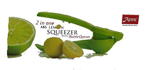 Apex Unbreakable 2in1 Lemon Squeezer with Bottle Opener