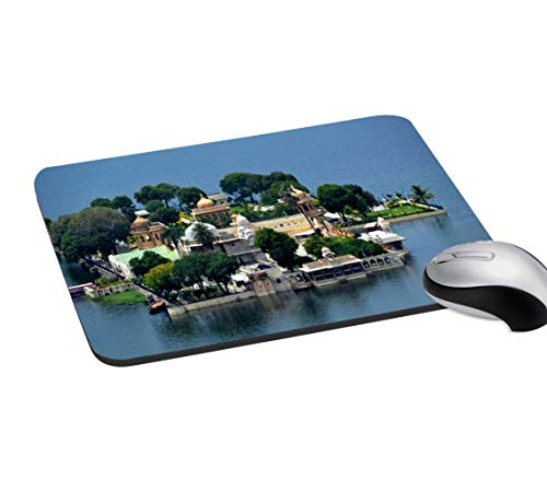 RADANYA Historical Place Mouse Pad Non-Slip Rubber Gaming Mouse Pad Mat for Laptop Computer & PC 7.2x8 Inches, Multicolor