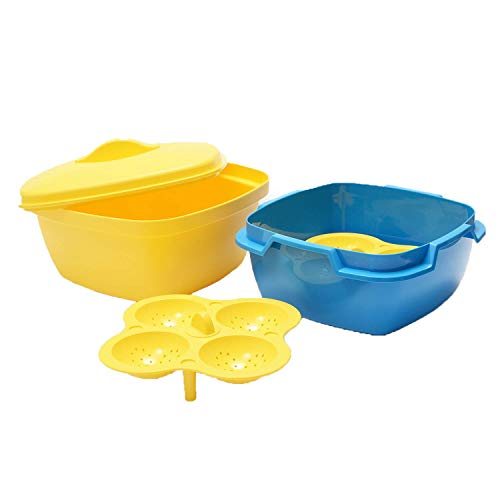 M7STORE Idli Maker Microware Safe Bowl Oven Dhokla Maker Stand Microwave and Dishwasher Safe, Multi Color
