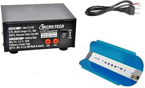ERH INDIA Dc to Ac Converter 12v to 220v 12v dc to 220v ac Converter Car Inverter for Multiple Applications