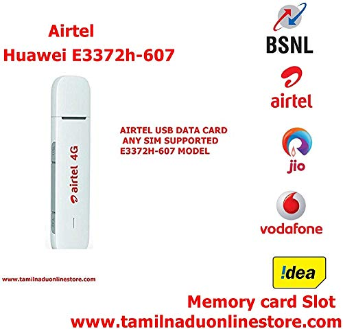 T.O.S 150 Mbps 4G LTE USB Dongle Stick Data Card 2G/3G/4G All SIM Working