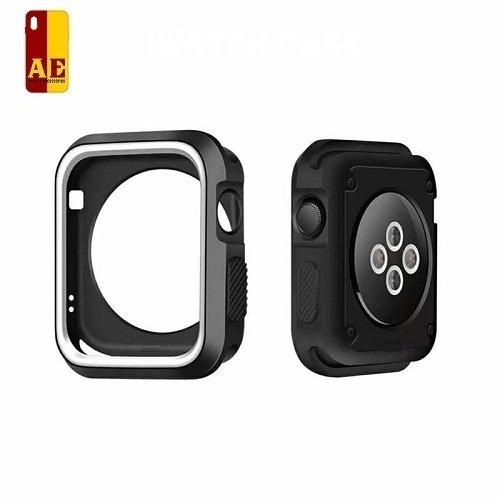 AE Mobile Accessories Rugged Armor Case for iWatch (Series 1/Series 2/Series 3)(42mm) (White)