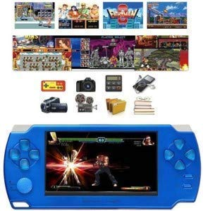 EYETECH PSP Classic Gaming Console 8 Gb Playstation with Preloaded Games, ET7 MP4 Player, WiFi,Fm, Tf Memory Card & Camera 4.3 Inch Screen Full Hd 1080P