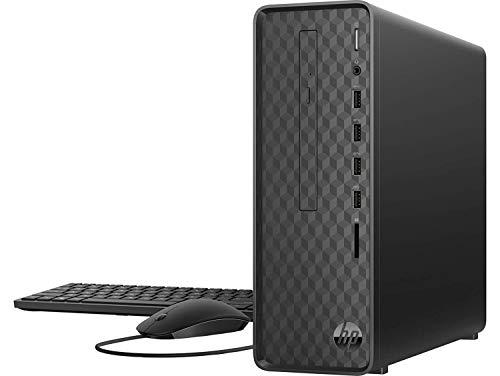 HP S01 Slim SO1 Desktop-Pentium Quad Core J5005 || 4GB || 1TB || Windows 10|| Jet Black || Without Monitor