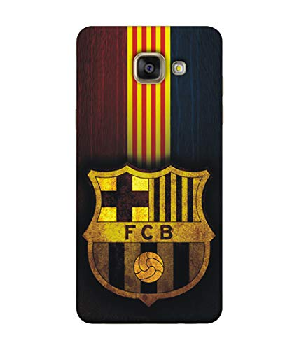 S SMARTY Samsung A5(2016) F C B Printed Hard Case Mobile Back Cover