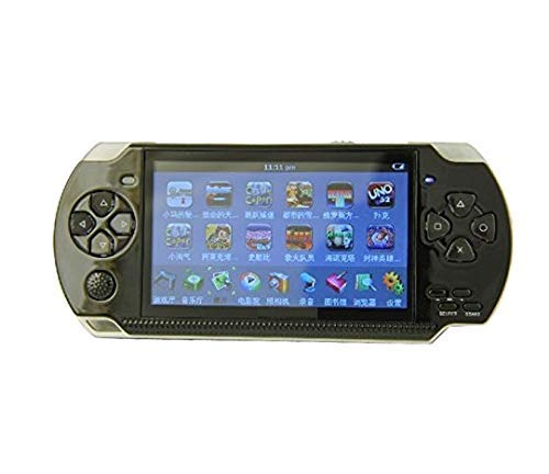 Genericcc LEE.STAR BLACK PSP gaming console with Music, Alarm, videos MD_011