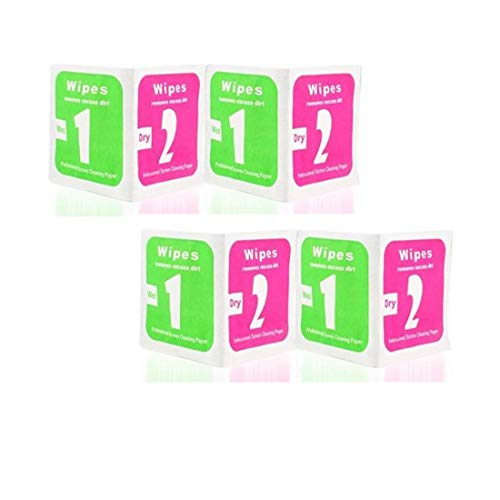 Qweezer 50 pcs wet and dry Cleaning wipes for Mobile Phone.