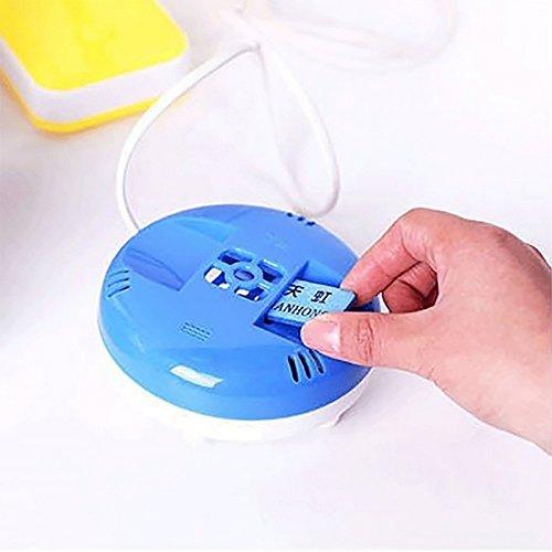 Generic Portable Electric Mosquito Killer USB Port Mosquito Repellent Heater Anti Mosquito Incense Killer with 30Pcs Mosquito Mat: USB with 30Pcs