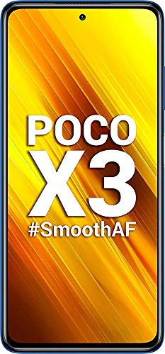 Xiaomi (Renewed) Poco X3 (Cobalt Blue, 6GB RAM / 128GB Storage)