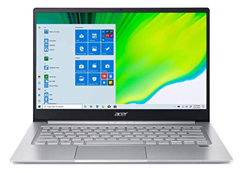 Acer Swift 3 AMD Ryzen 5 4500U 14-inch Display Ultra Thin and Light Laptop (8GB Ram/512GB SSD/Window 10, Home/AMD Radeon Graphics/ Pure Silver/1.2kgs), SF314-42