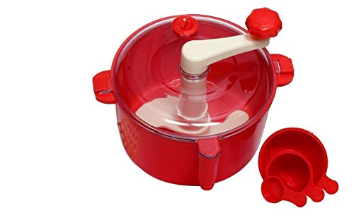 RK STAR ABS Atta Dough Kneader Maker Kitchen Set with Measuring Cups (Aata Maker)