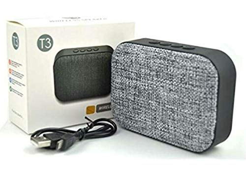 Unbranched Wireless Rechargeable B.Tooth Speaker with FM,SD,AUX in Player