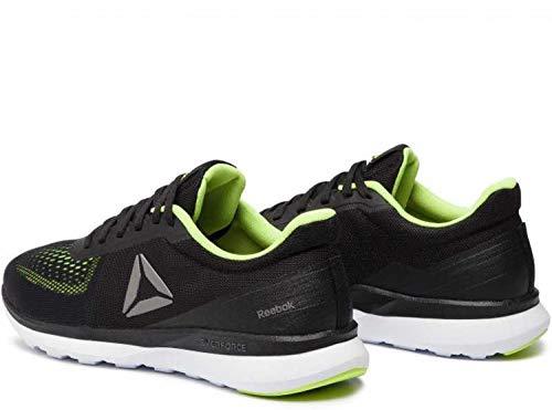 Reebok Men's Everforce Breeze Black/Neon Lime/Whit Running Shoes-13 UK (48.5 EU) (14 US) (CN6602)