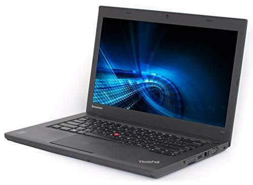(Renewed) Lenovo Thinkpad T440-i5-4 GB-320 GB 14-inch Laptop (4th Gen Core i5/4GB/320GB HDD/Windows 7/Integrated Graphics), Black
